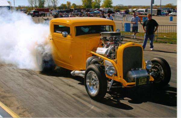 1932 Chevy 3-Window Coupe 1 0ff 1000+HP Winner $69 9k For