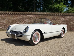Corvette C1 100 miles after restoration, 1954 model For Sale