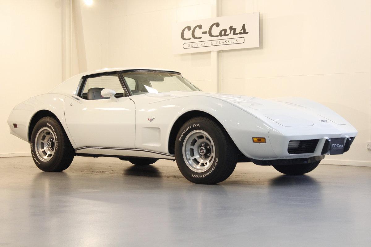 1977 Chevrolet Corvette 5,7 V8 Targa For Sale (picture 1 of 6)