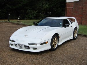 1992 Chevrolet Corvette C4 at ACA 24th August