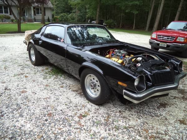 1975 Chevrolet Camaro Darg Race Car  For Sale (picture 4 of 6)