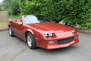 1989 Chevrolet Camaro RSSS - Lot 938 For Sale by Auction