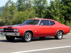 1970 Chevy Chevelle SS Fast 454 Manual Red(~)Black $38.5k For Sale