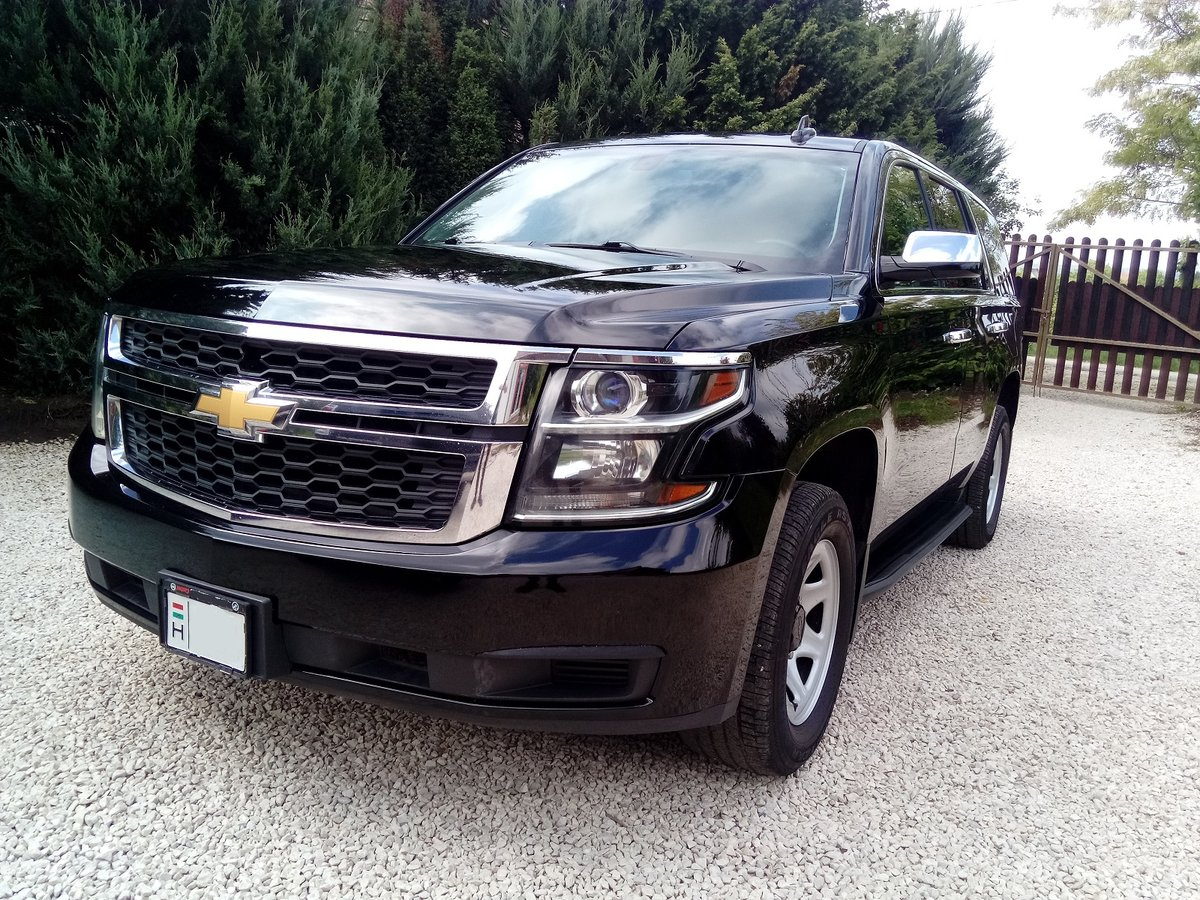 2016 chevrolet tahoe ppv 4X4 8 passanger For Sale (picture 1 of 6)