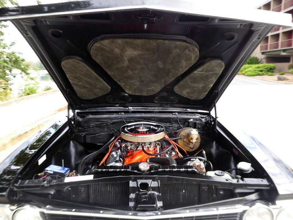 1966 Chevy Chevelle SS Convertible = 396 + Manual Black $69. For Sale (picture 6 of 6)