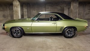 1969 Camaro SS396 Fresh Restored Green 4 speed Manual $obo For Sale