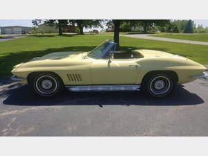 1967 Chevrolet Corvette Sting Ray Convertible  For Sale by Auction