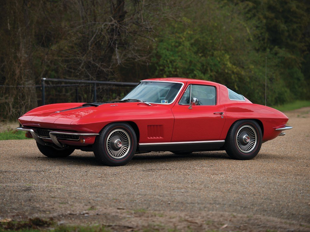 1967 Chevrolet Corvette Sting Ray 427 Coupe  For Sale by Auction (picture 1 of 6)