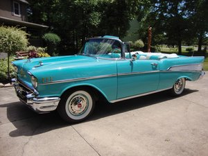 1957 Chevrolet Bel Air Convertible  For Sale by Auction