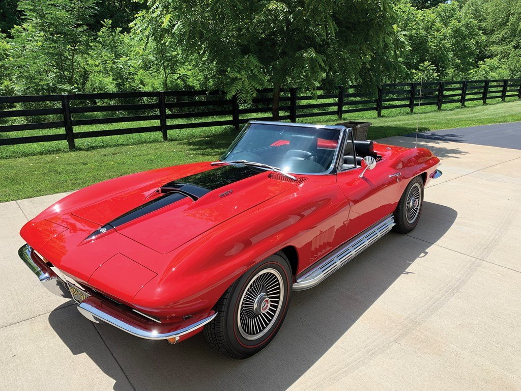 1967 Chevrolet Corvette Sting Ray 427 Convertible  For Sale by Auction (picture 6 of 6)