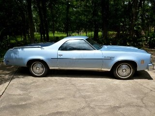 1976  Chevrolet El Camino Car(~)Truck 350 AT 44k miles $12.9k