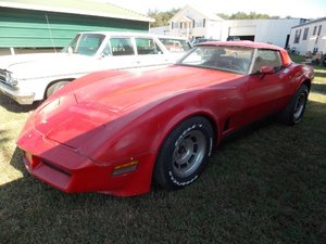 6500 1982 Corvette Coupe T-Tops = Project Drives needs tlc $6.5k For Sale