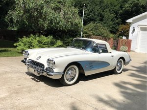 1959 Chevrolet Corvette Roadster  For Sale by Auction