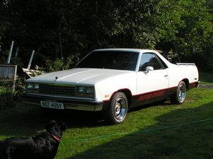1983 Chevrolet el camino v8 auto super sport pick up  For Sale