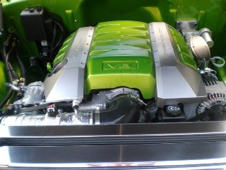 1955 Chevy Nomad Wagon Custom New LS3 Viper Green $103.5k For Sale (picture 6 of 6)