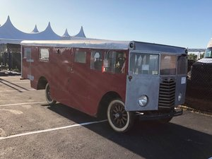 1920 Chevrolet Hartman Camper  For Sale by Auction