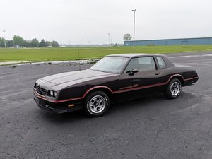 1985 Chevrolet Monte Carlo SS  For Sale by Auction