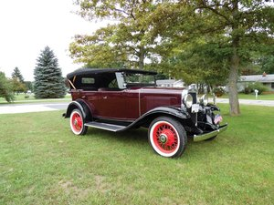 1931 Chevrolet Independence Phaeton  For Sale by Auction