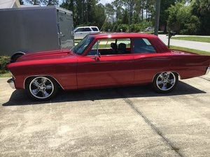 1967 Chevrolet Nova Restomod  For Sale by Auction