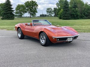 1968 Chevrolet Corvette 427 Convertible  For Sale by Auction