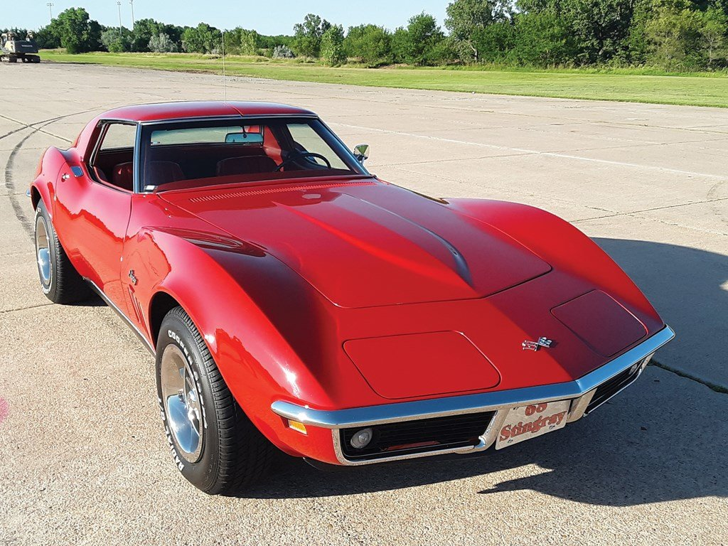 1968 Chevrolet Corvette Stingray Coupe  For Sale by Auction (picture 1 of 6)