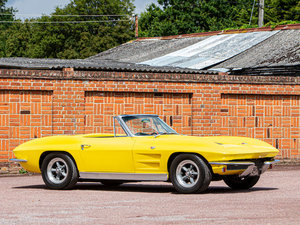 1963 CHEVROLET CORVETTE STING RAY CONVERTIBLE For Sale by Auction