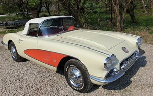 1958 CHEVROLET CORVETTE ROADSTER WITH HARDTOP For Sale by Auction