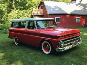 1965 Chevrolet Suburban Custom  For Sale by Auction