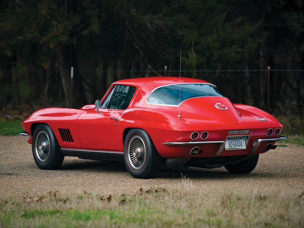 1967 Chevrolet Corvette Sting Ray 427 Coupe  For Sale by Auction (picture 2 of 6)