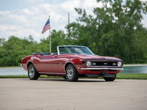 1968 Chevrolet Camaro SS 396 Convertible  For Sale by Auction
