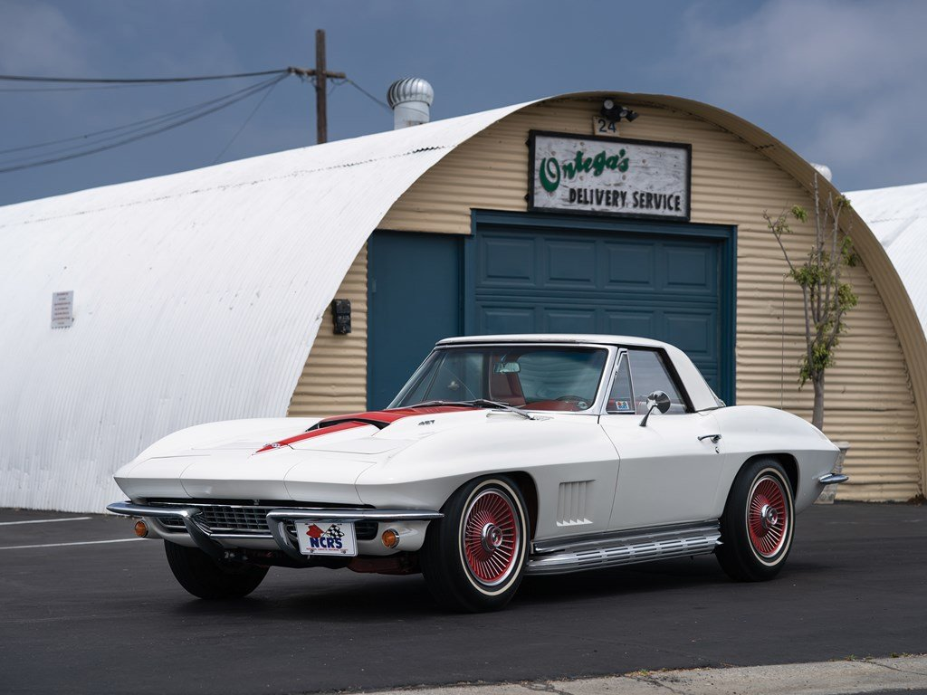 1967 Chevrolet Corvette Sting Ray COPO Convertible  For Sale by Auction (picture 1 of 6)