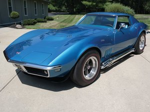 1968 Chevrolet Corvette Stingray 427 Nickey Coupe  For Sale by Auction