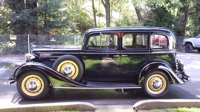 1934 Chevrolet Master Deluxe Restored Excellent Condition