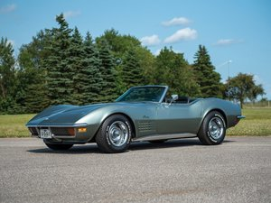 1972 Chevrolet Corvette Stingray Convertible  For Sale by Auction