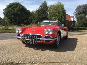 1962 Chevrolet Corvette C1 350 4 Speed Roadster For Sale