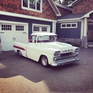 1958 Chevrolet Apache (Clarkston, Mi) $39,900 obo For Sale