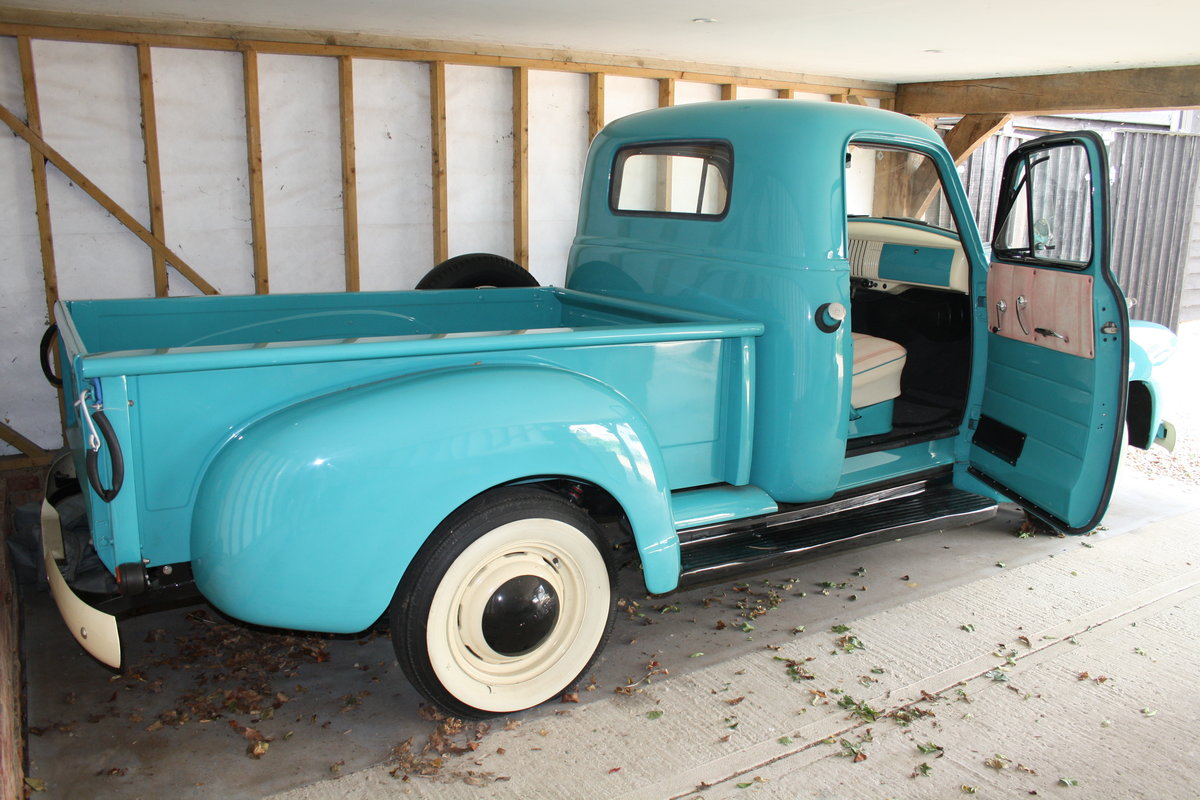 1954 CHEVROLET PICK UP TRUCK SOLD (picture 2 of 6)