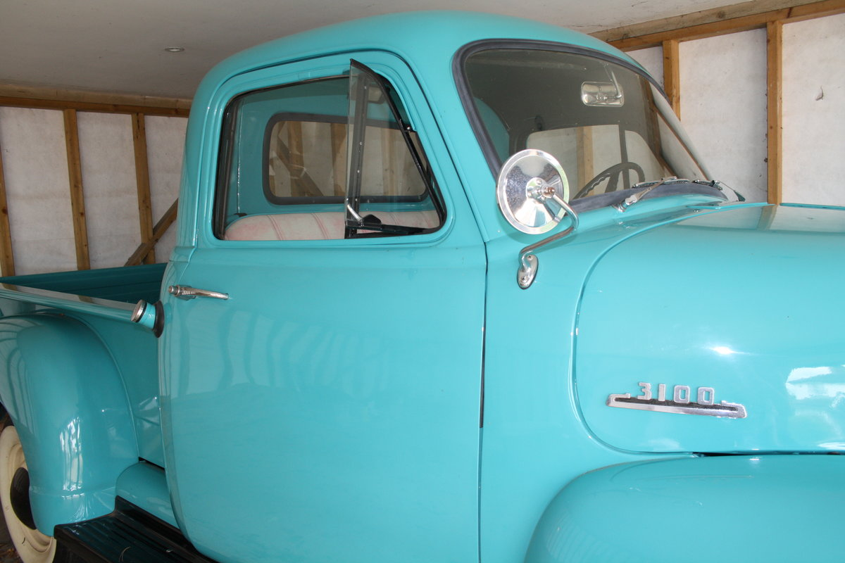 1954 CHEVROLET PICK UP TRUCK SOLD (picture 6 of 6)