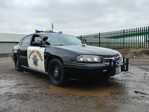 2004 Chevrolet Impala Police 9C1 CHP cop car For Sale