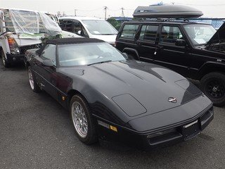 1989 Corvette C4 Convertible jap import on its way to the uk Now  For Sale (picture 2 of 6)