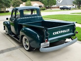1952 Chevy 3100 Pickup Truck 5 Window Restored 6-cyls AT $34 For Sale (picture 3 of 6)