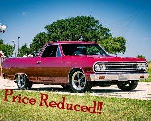 1964 Chevy El Camino Car(~)Truck Custom 350 AT AC $29.5k