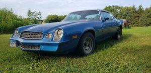 1 owner 1979 Chevrolet Camaro Berlinetta  For Sale