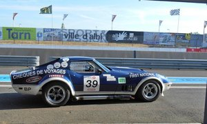 1969 CHEVROLET CORVETTE  STINGRAY GR. IV, FIA, EX ANDRUET SOLD by Auction