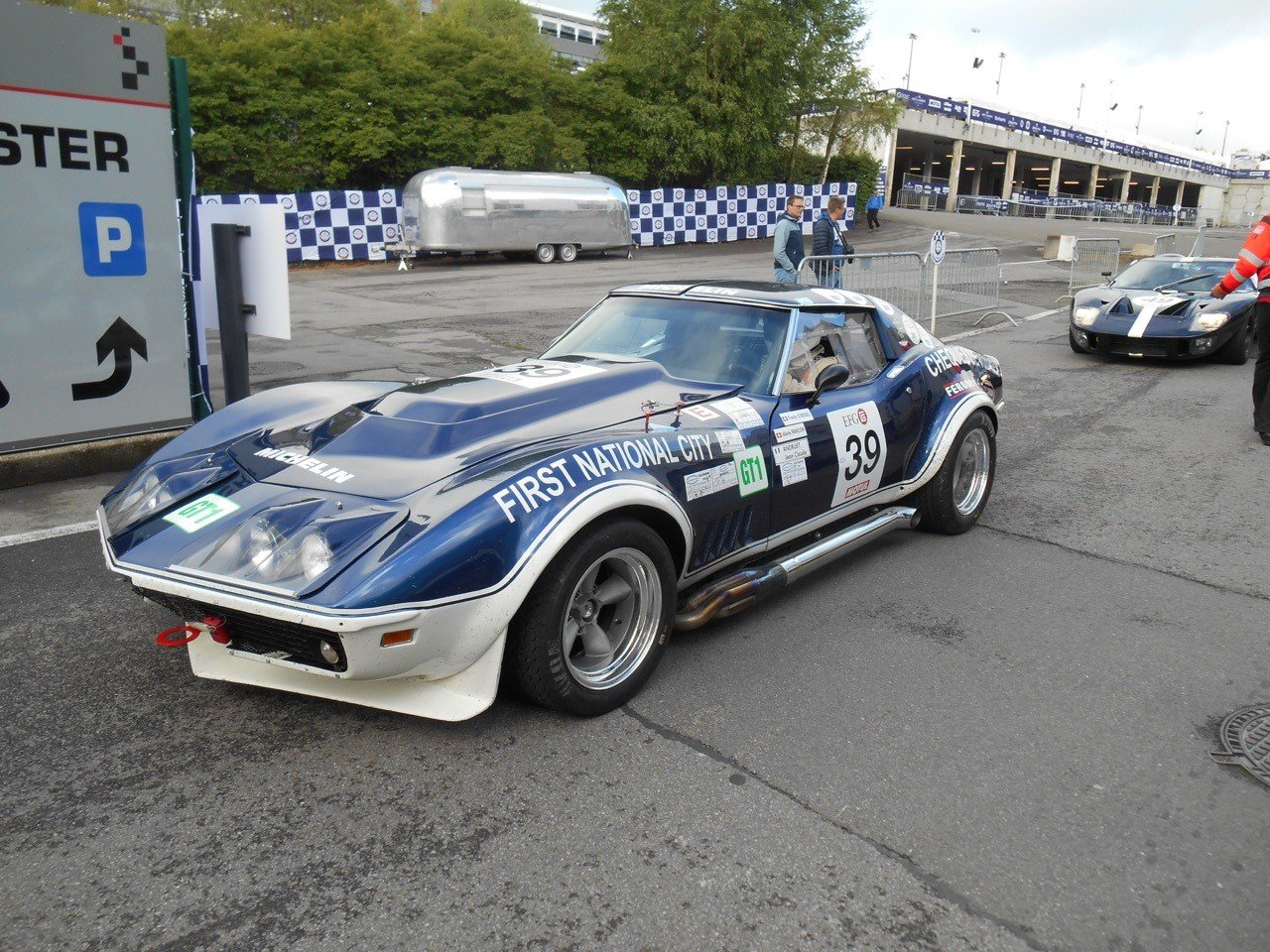 1969 CHEVROLET CORVETTE  STINGRAY GR. IV, FIA, EX ANDRUET For Sale by Auction (picture 3 of 3)