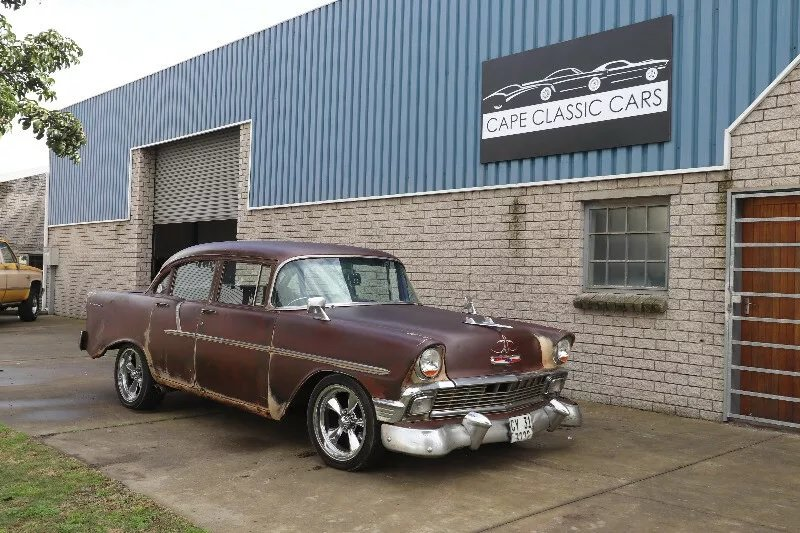 1957 1956 Chevrolet 210 'Rust Rod' (RHD) SOLD (picture 1 of 3)