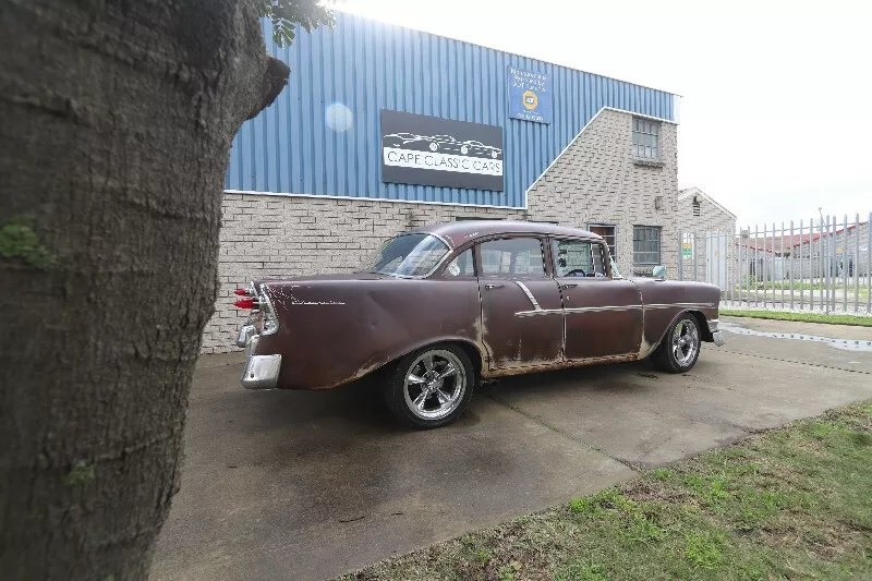 1957 1956 Chevrolet 210 'Rust Rod' (RHD) For Sale (picture 2 of 3)