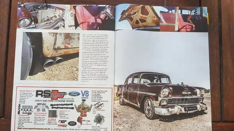 1957 1956 Chevrolet 210 'Rust Rod' (RHD) For Sale (picture 3 of 3)