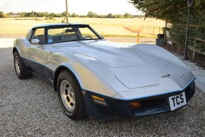 1981 Corvette C3 Stingray Targa 5.7i V8 Automatic SOLD