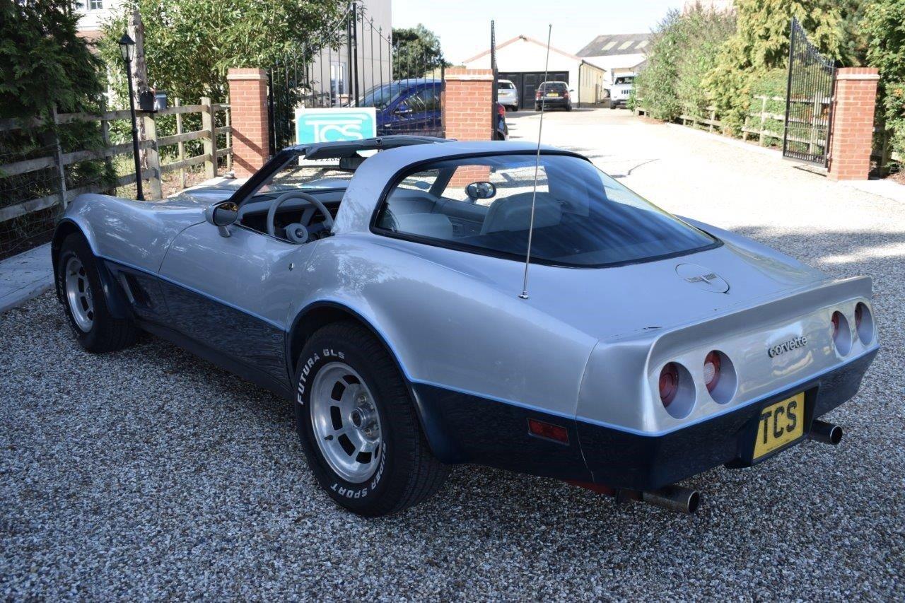 1981 Corvette C3 Stingray Targa 5.7i V8 Automatic SOLD (picture 2 of 6)